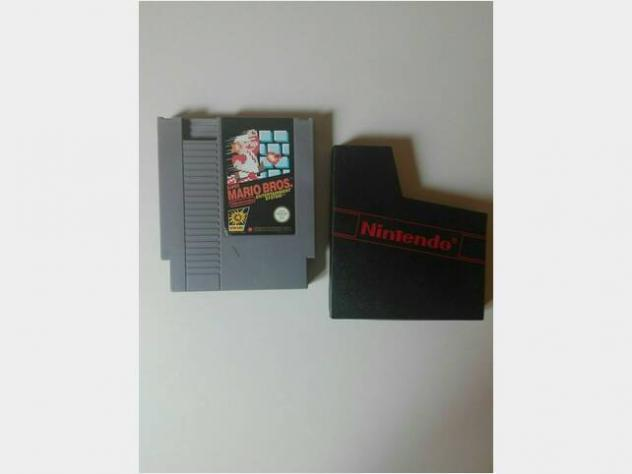 Nintendo nes console giochi super mario bros pal i usato