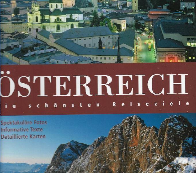 Osterreich (austria) - guida turistica con sei carte geogr caltanissetta - collezionismo in vendita