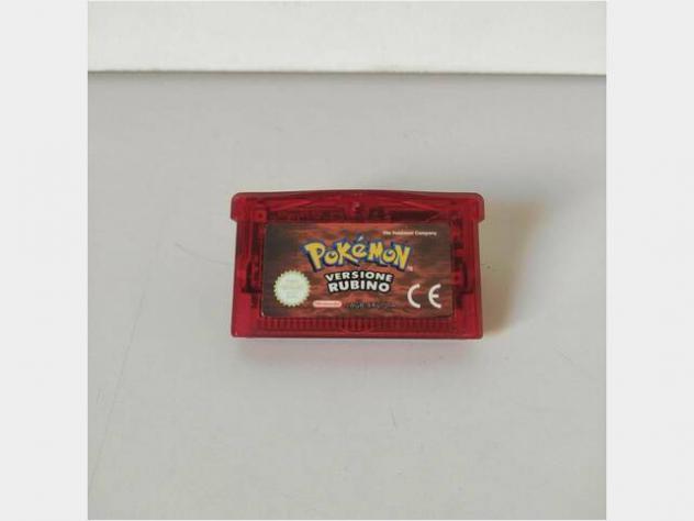 Pokemon rubino gba game boy advance ita usato