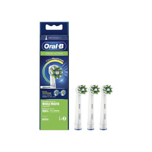 Ricambio per spazzolino da denti elettrico oral-b eb 50-3