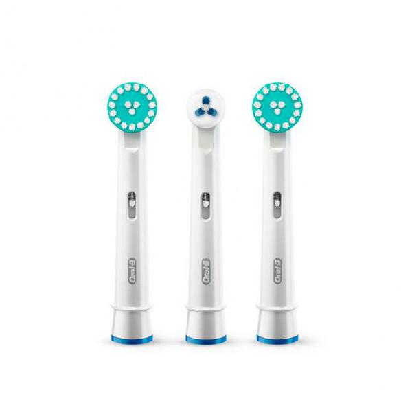 Ricambio per spazzolino da denti elettrico oral-b ortho care