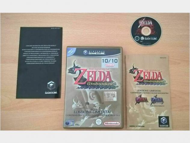 The legend of zelda wind waker nintendo gamecube p usato