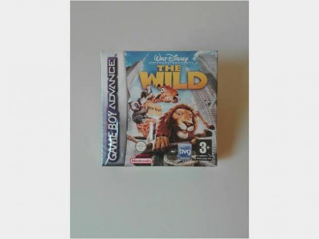 The wild - nintendo game boy advance gba - pal ita usato
