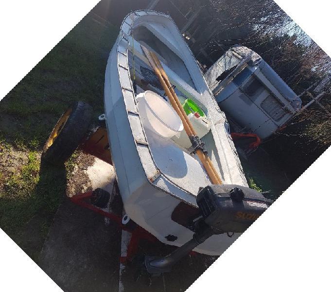 Barca da pesca da 4 metri in ottime condizioni battipaglia - barche usate occasione
