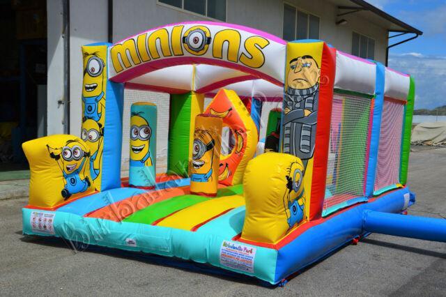 Giochi gonfiabili gonfiabile trampolini elastici playground