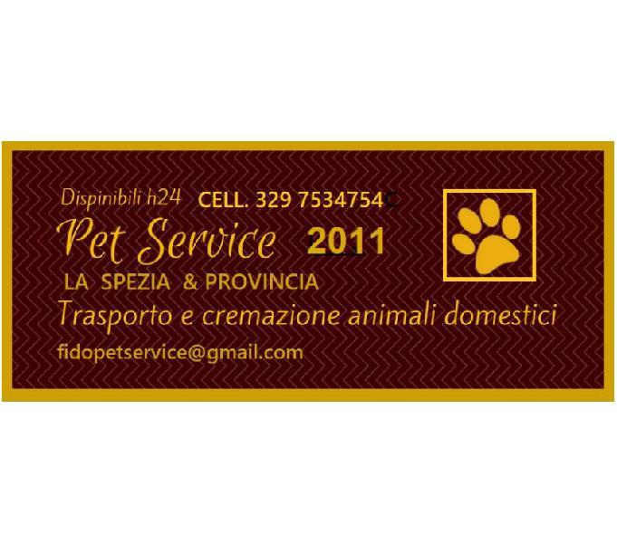 Pet service 2011 cremzione animali la spezia - prodotti e servizi per animali