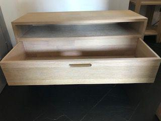 Porta tv legno rovere
