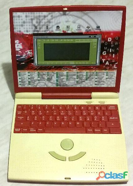 Laptop Sonoro Interattivo Welltech Red per i bambini perfetto