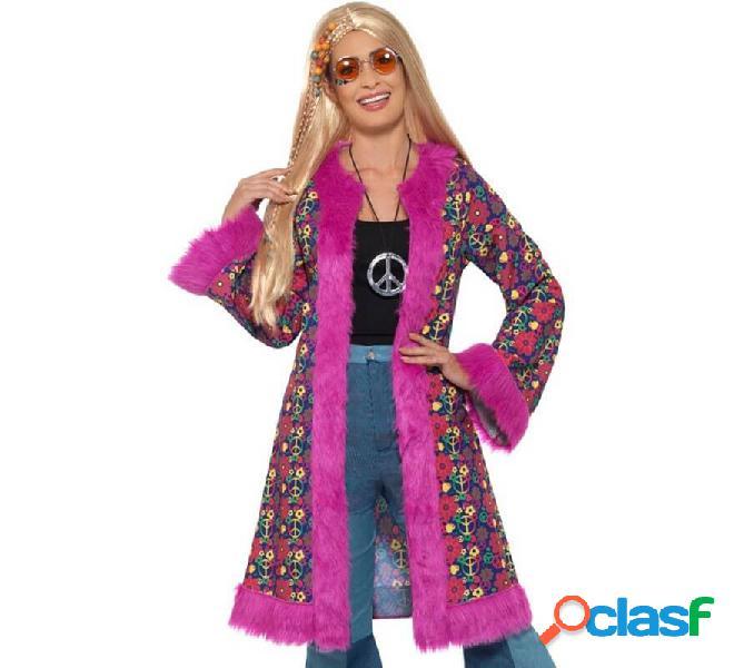 Cappotto hippie con fiori per le donne