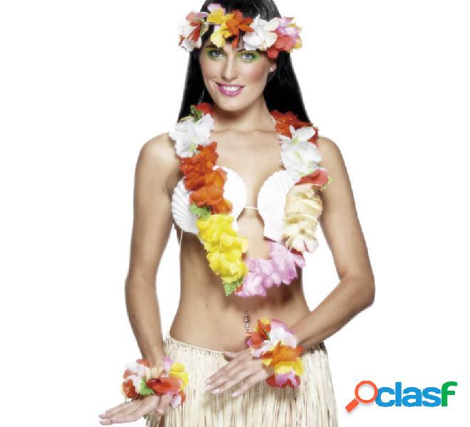 Kit di fiori hawaiano o set per le donne