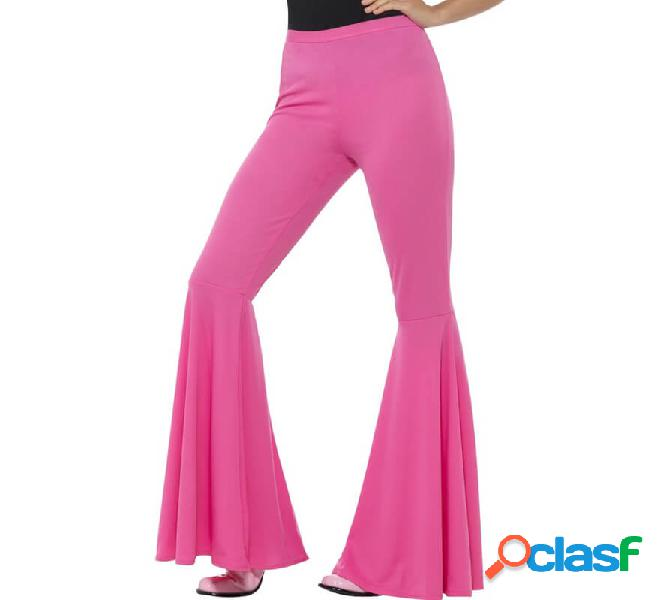 Pantaloni a campana rosa per le donne
