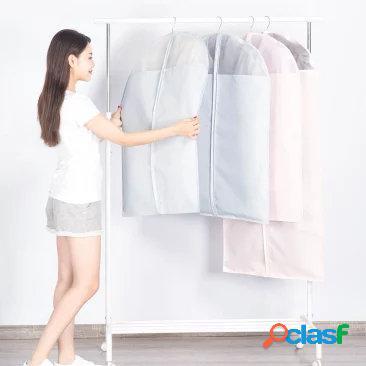 Originale xiaomi mi casa 2pcs indumento copre i vestiti protezione antipolvere appendere i vestiti di stoccaggio borsa