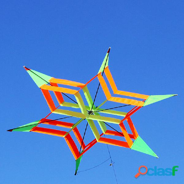 3d colorful fiore aquilone linea singola giocattolo per sport all'aria aperta vento leggero che vola giocattoli da spiag