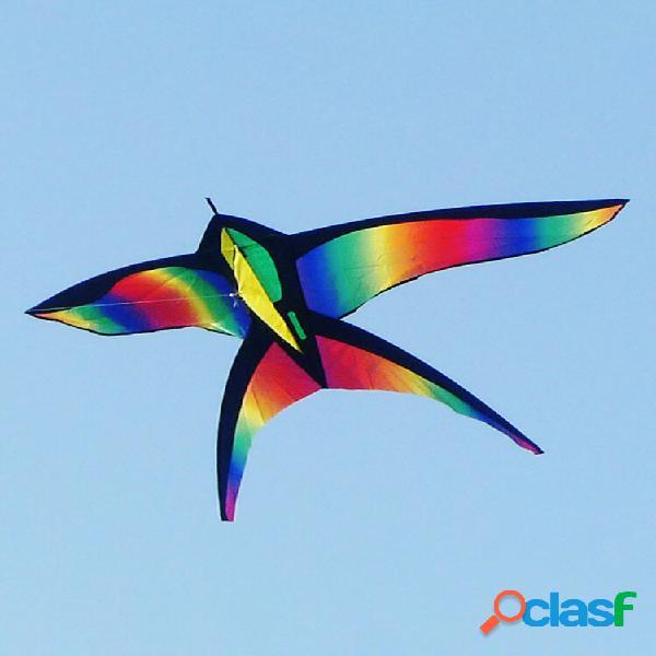 68 pollici swallow kite bird kites single line divertimento all'aria aperta giocattoli sportivi delta kids beach toys