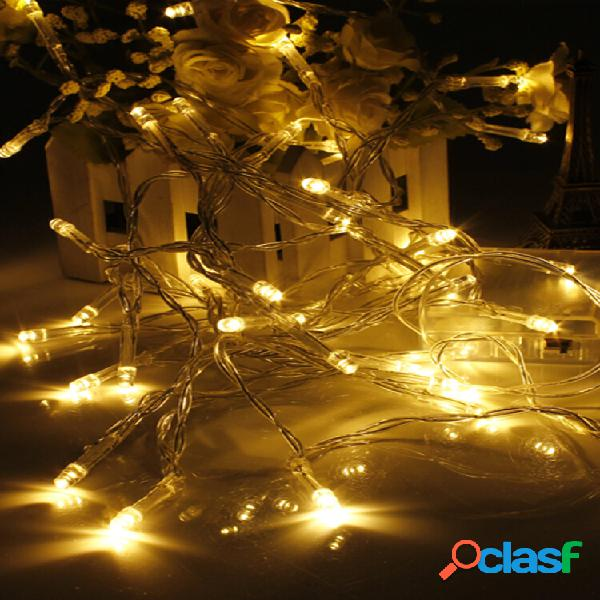 Mini 10 led catenaria lampadine con alimentazione batteria decorazione a natale party casa