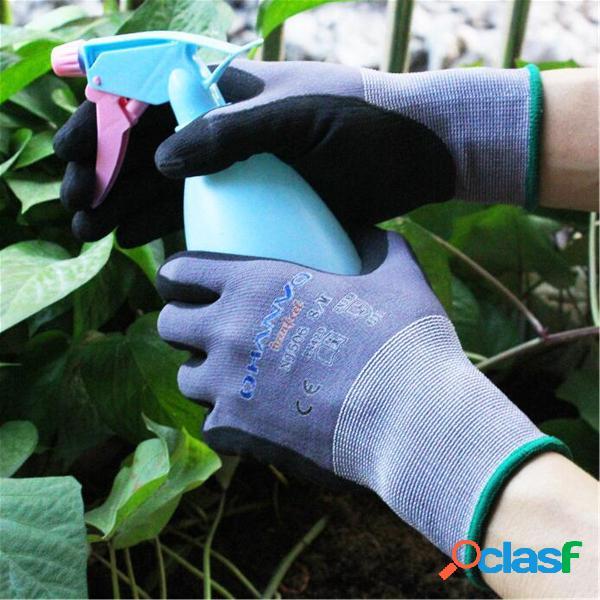 Outdoor garden protective guanti guanto traspirante resistente all'usura per le pulizie meccanico funziona