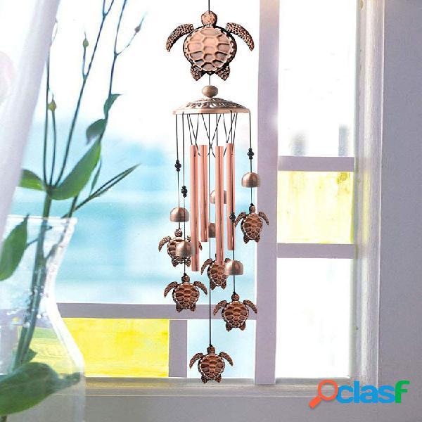 1pc tartaruga antique carillon di ventos hanging ornament home outdoor garden yard decor con gancio