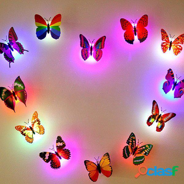 Honana dx-68 farfalla led night light lampada con decorazioni di natale di aspirazione