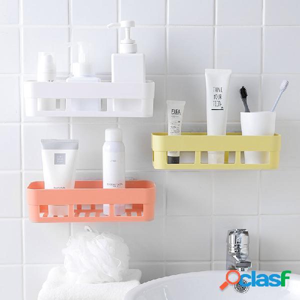 Servizi igienici forniture da cucina servizi igienici scaffale da muro in plastica lavandino da bagno scaffale da bagno