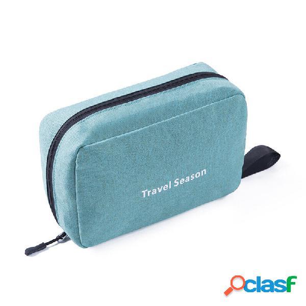Honana hn-cb07 cosmetico da viaggio borsa articoli da toeletta da appendere impermeabili borsa trucco organizzatore cust