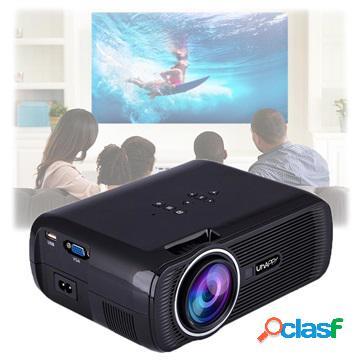 Mini proiettore led portatile uhappy u80 - 1080p - nero