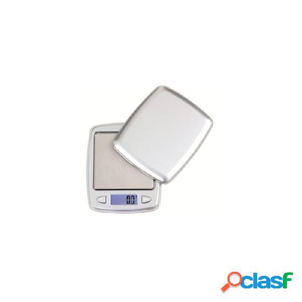 Bilancia digitale tascabile gr 500 - plastica riutilizzabile - grigio