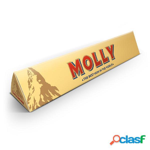 Barretta di cioccolato toblerone per la festa della mamma - 200 grammi