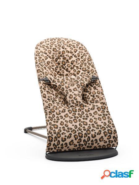 Sdraietta babybjörn bliss cotton beige/leopard 2021