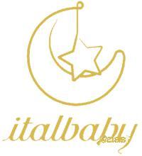 Poltroncina tonda italbaby happy family bianco