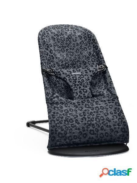 Sdraietta babybjörn bliss mesh antracite/leopard