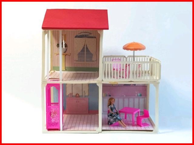 Barbie villa terasse 1988 casa di bambola vintage