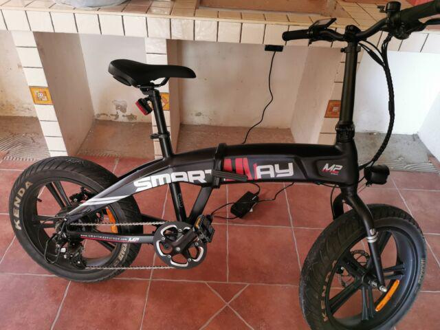 Bicicletta elettrica pieghevole usata
