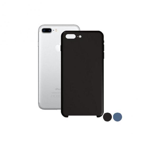 Custodia per cellulare iphone 7+/8+ ksix soft silicone