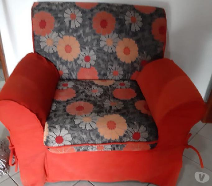 Divano e due poltrone da soggiorno in vendita longobardi - vendita mobili usati