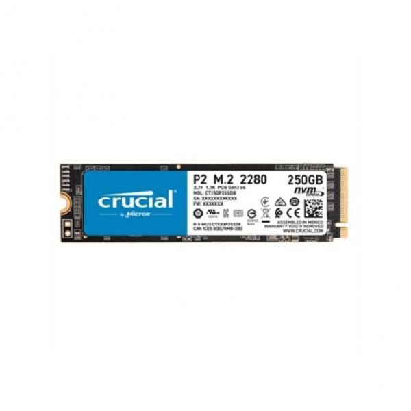 Hard disk crucial p2 ssd 250 gb m.2