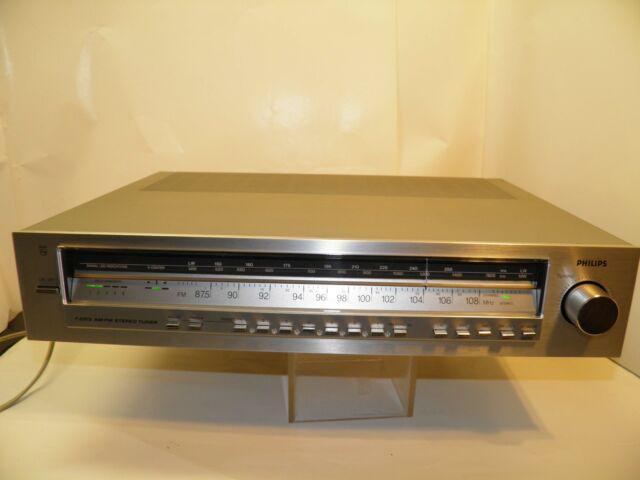 "Sintonizzatore vintage anni80"" philips f 2213/00"
