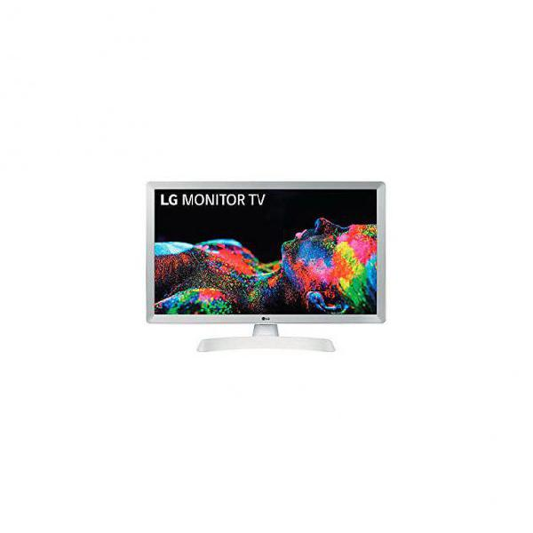 "Smart tv lg 24tn510swz 24"" hd ready led wifi bianco"