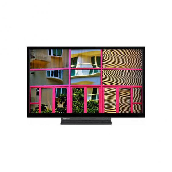 "Smart tv toshiba 24wl3c63dg 24"" hd ready led wifi nero"