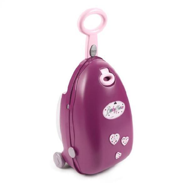 Smoby valigia giocattolo per bambole 3 in 1 baby nurse