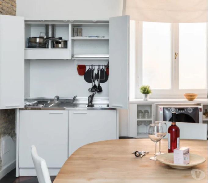 Vendo splendida cucina euromobil monoblocco in vendita roma - vendita mobili usati