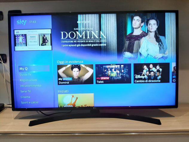 Vendo smart tv lg 49 pollici