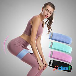 Bande di bottino bande di resistenza per gambe e testa a testa gli sport seta lattice yoga pilates esercizi di fitness elastico duraturo sollevamento dei glutei allevia lo stress per da donna