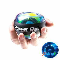 Powerball rotore giroscopico adduttori 7,5 cm diametro gomma da cancellare con led indicato per i polsi allevia lo stress terapia della mano giroscopio allenamento polso esercizi di fitness l