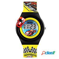Skmei bambini orologio digitale digitale digitale sportivo cartone animato creativo adorabile / un anno / similpelle lightinthebox