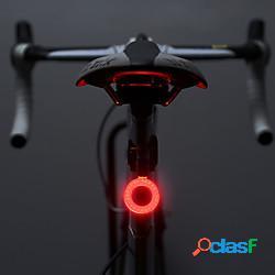 Led luci bici luce posteriore per bici luci di sicurezza ciclismo da montagna bicicletta ciclismo impermeabile modalità multiple super luminoso portatile 10 lm ricaricabile usb campeggio ligh