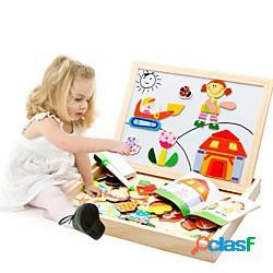 Modellini di legno cartone animato creativo di legno 95 pcs da bambino / prescolastico regalo lightinthebox