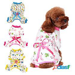 Prodotti per cani prodotti per gatti tuta vestiti del cucciolo abbigliamento per cani da principessa giraffa animali da principessa gatto cartone animato stile sveglio casual / quotidiano min