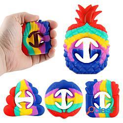 Giocattolo a scatto agitarsi per alleviare lo stress, stringere la mano afferrare giocattoli sensoriali pop popper per feste produttore di rumore antistress pop pops clic su dito giocattolo s