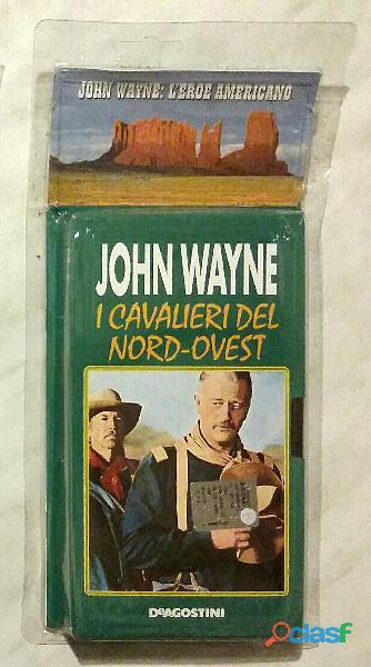 VHS Videocassetta John Wayne I cavalieri del Nord Ovest nuovo con cellophane