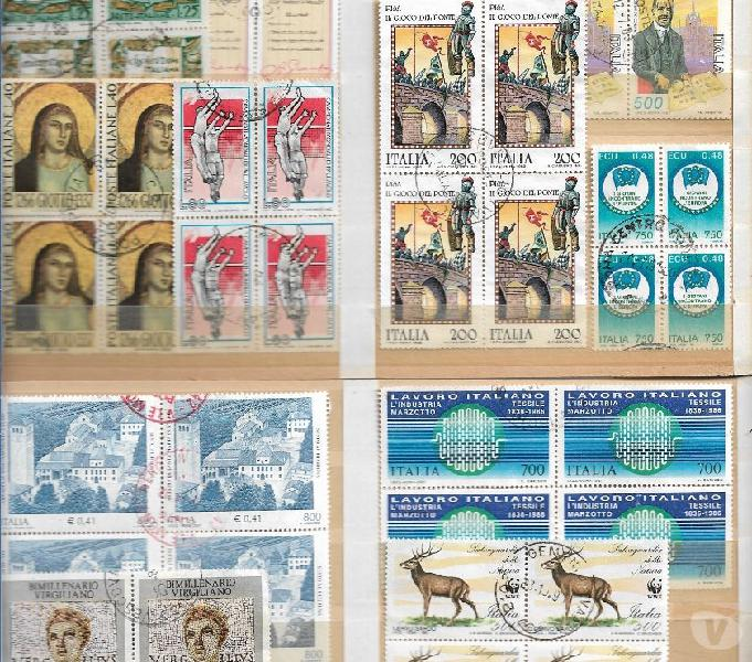 19522001 n 28 quartine italia usate sottodescritte caltanissetta - collezionismo in vendita